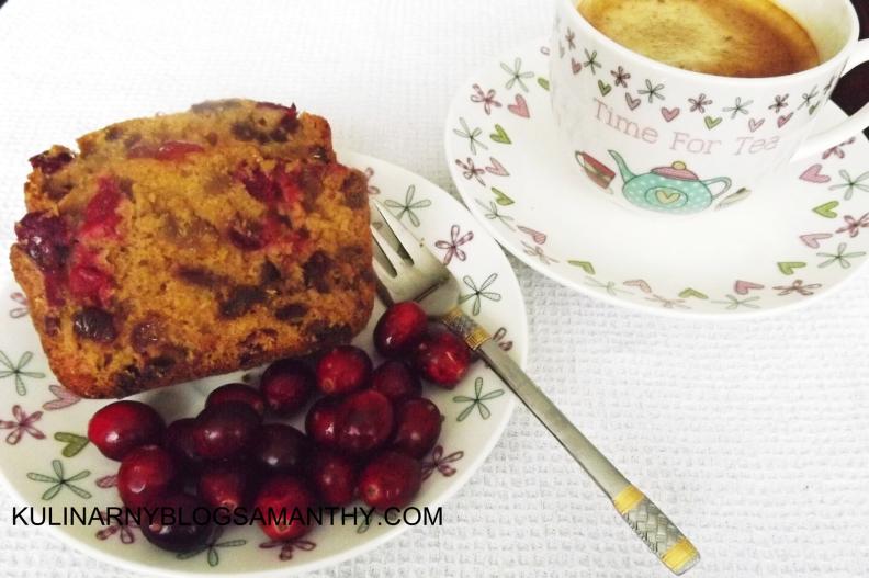 ciasto zurawinowe