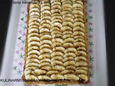 Tarta Bananowa z Toffi