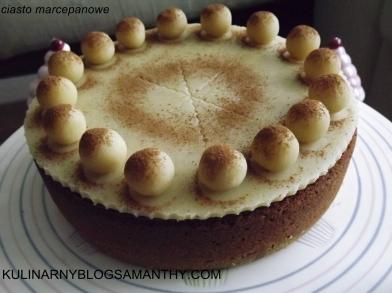 Ciasto Marcepanowe