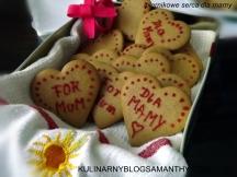 Piernikowe serca dla Mamy