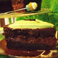 Irlandzkie ciasto czekoladowe na św. Patryka