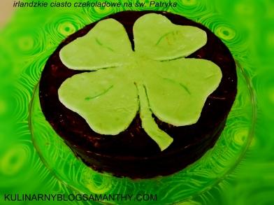 Irlandzkie ciasto czekoladowe