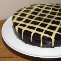 Ciasto Gruszkowe w Czekoladzie