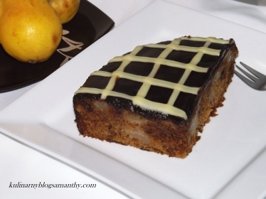 Ciasto Gruszkowe z Czekoladą