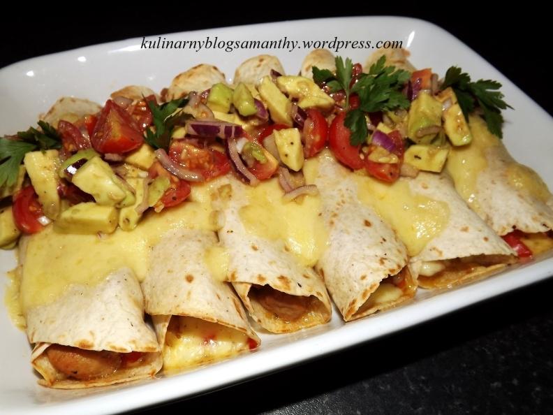 Enchiladas - zapiekanka meksykańska