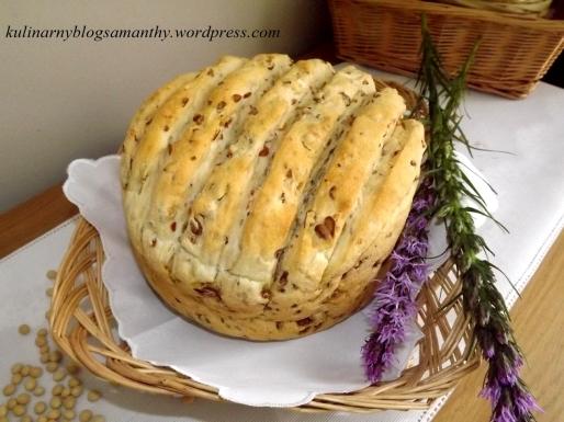 Chleb sojowo lniany