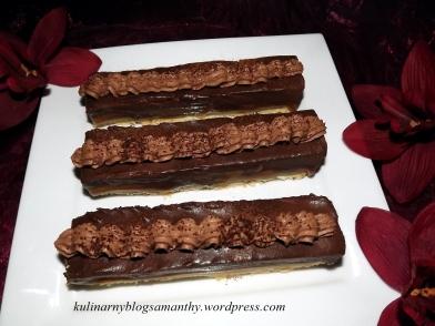 Paluszki czekoladowo karmelowe