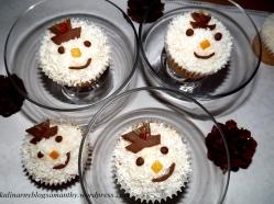 Muffinkowe bałwanki