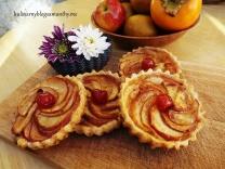 Tartaletki z jabłkami