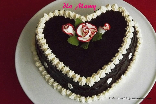 Czekoladowe serce dla Mamy