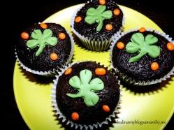 Muffinki na dzień Swiętego Patryka