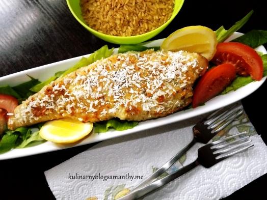 Ryba w kokosowo ziołowej panierce