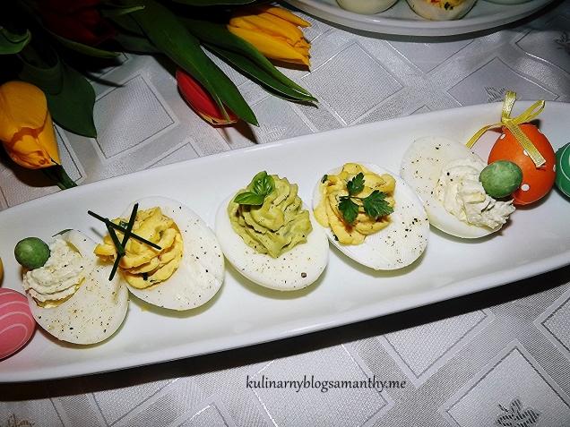 Jaja w czterech smakach