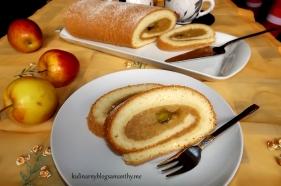 Rolada z jabłkami