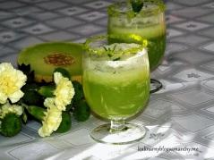 Melonowy koktajl