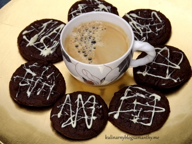 Ciasteczka czekoladowo-karmelowe