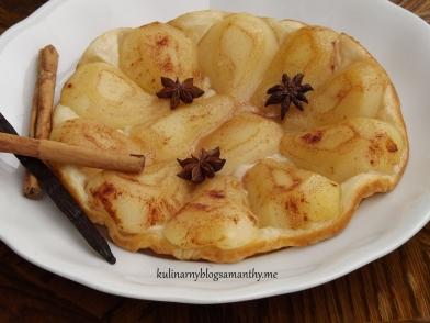Tarta Tatin z gruszkami