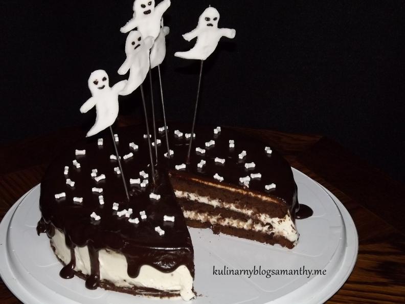 Tort na Halloween