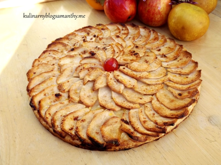 Galette z jabłkami