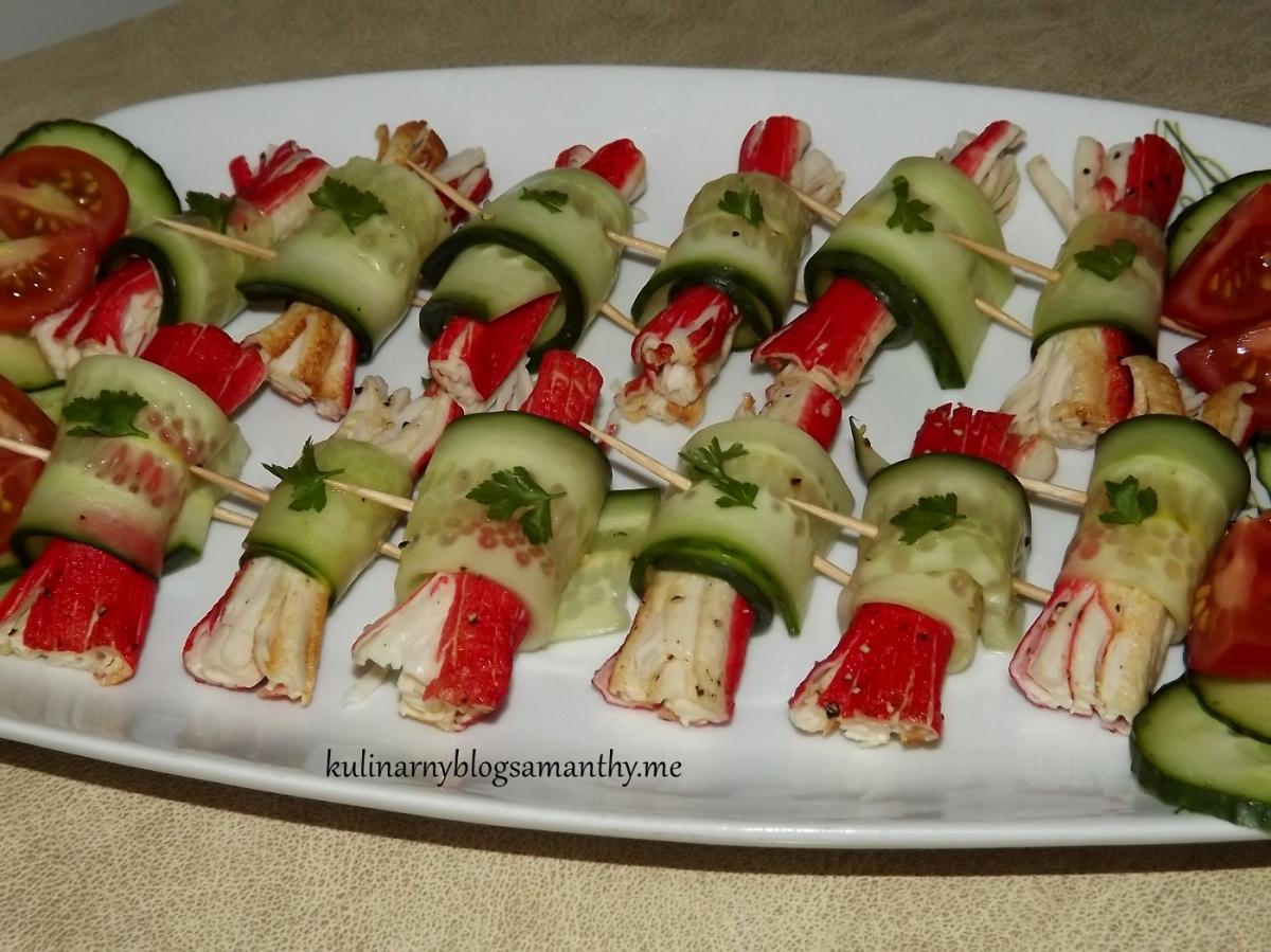 Przekąski Krabowe Kulinarny Blog Samanthy