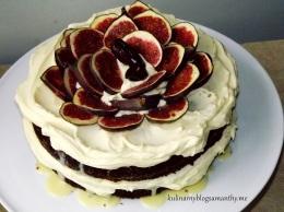 Ciasto daktylowo-figowe