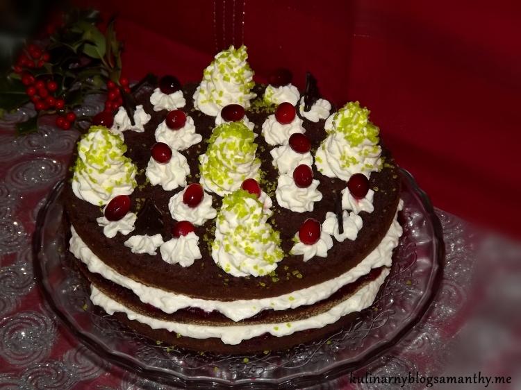 Tort żurawinowy