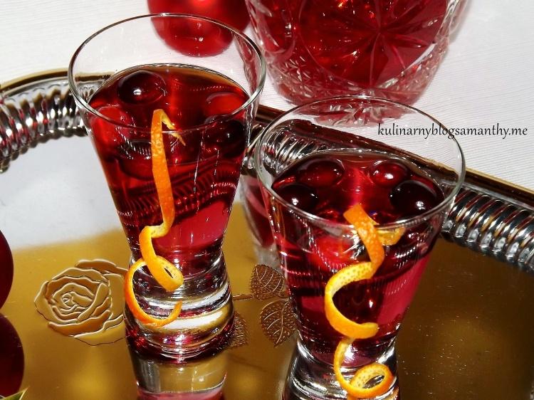 Żurawinowy drink