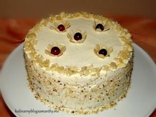 Tort migdałowy z Amaretto