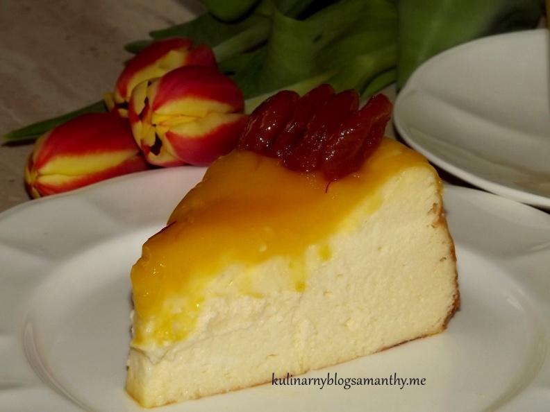 Sernik z lemon curd