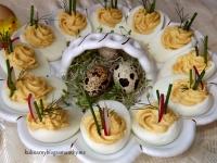 Jaja faszerowane na ostro