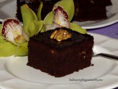 Brownies z orzechami