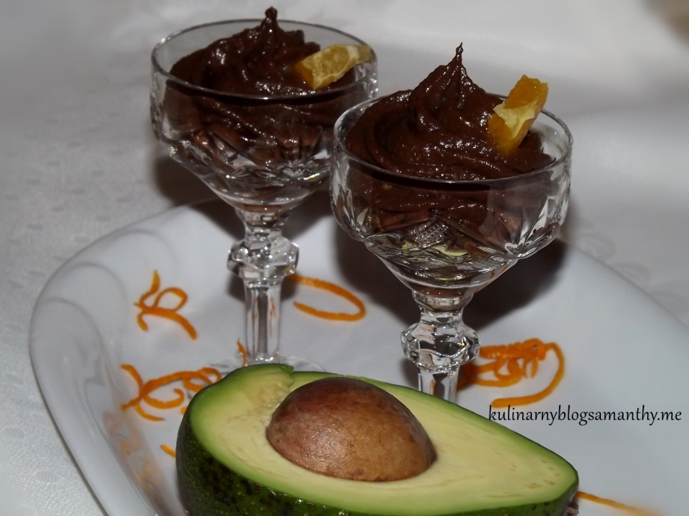 Mus czekoladowy z awokado
