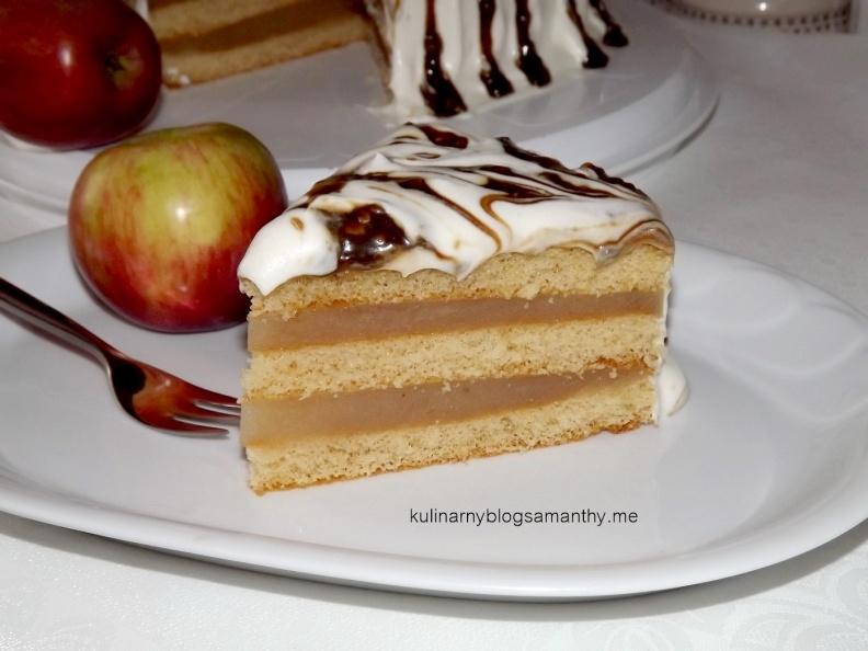 Ciasto z musem jabłkowym