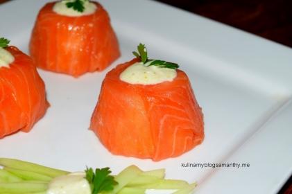 Sushi z łososia