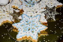 Ciasteczka - Płatki sniegu