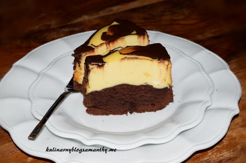 Wieniec czekoladowo serowy