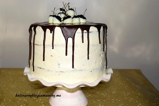 Tort z wisniami