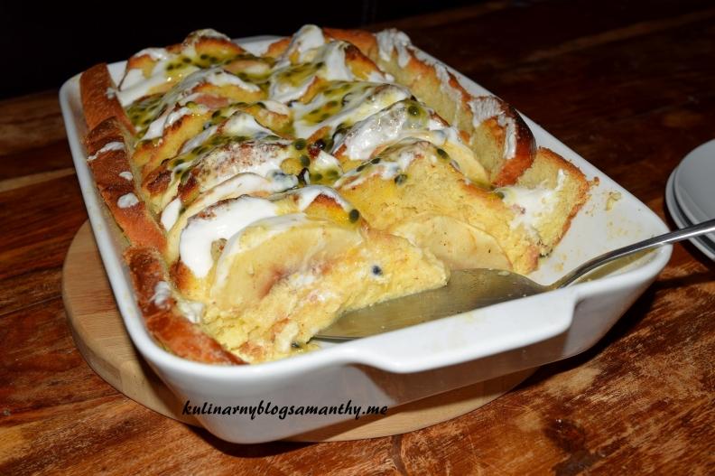 Pudding owocowy z brioche