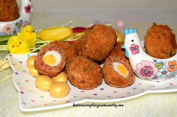 Jajka przepiórcze po szkocku