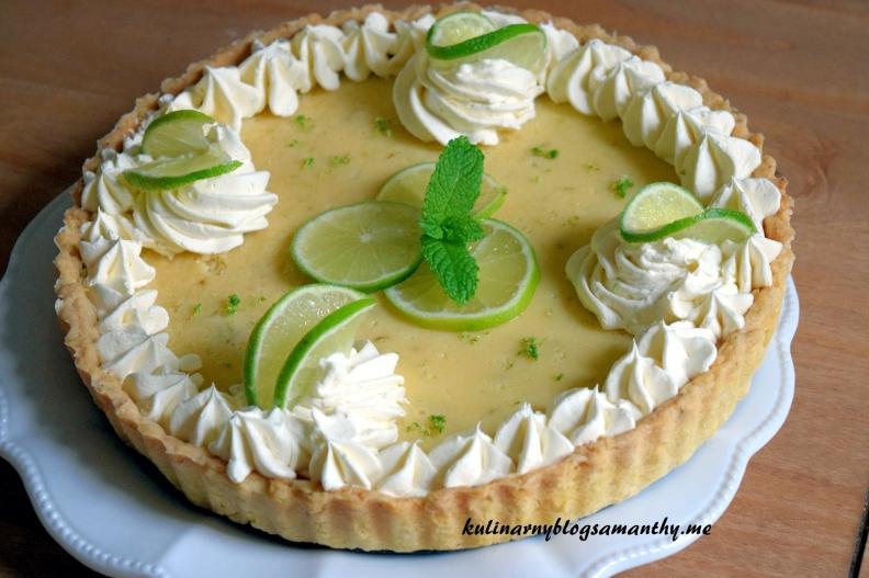 Tarta limonkowa