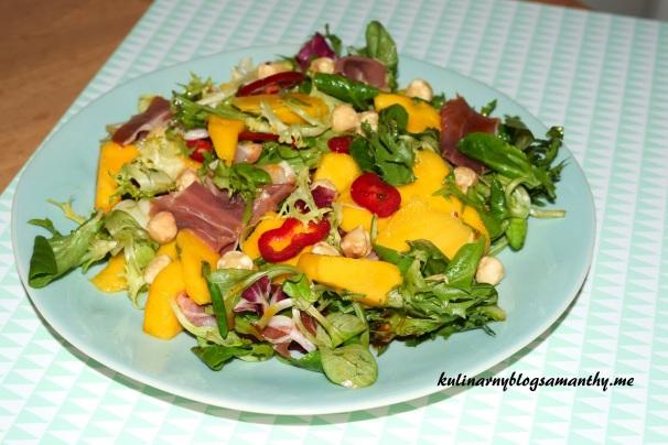 Sałatka z mango