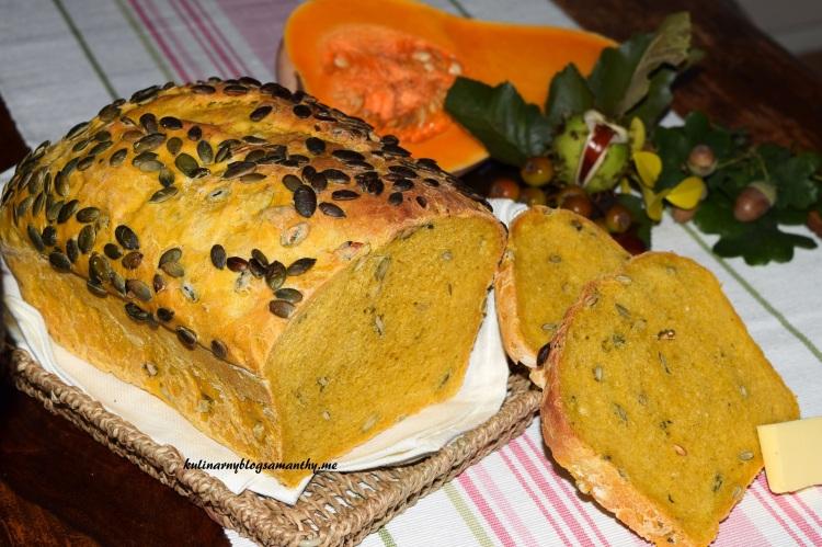 Chleb dyniowy
