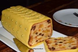 Ciasto z morelami i marcepanem