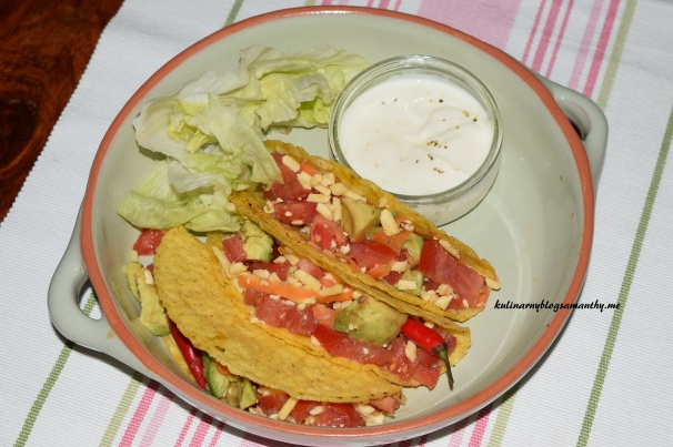 Sałatka w Taco