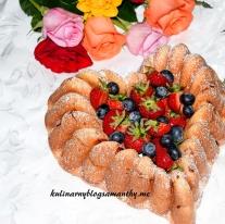 Serce truskawkowe dla Mamy