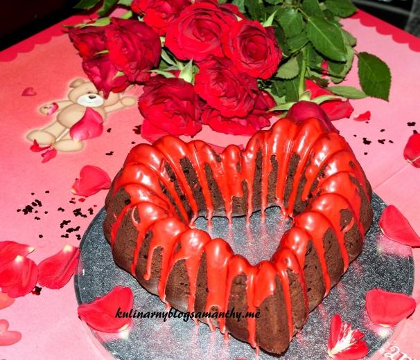Czekoladowe serce dla Walentynki