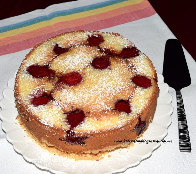 Ciasto ze śliwkami odwrócone