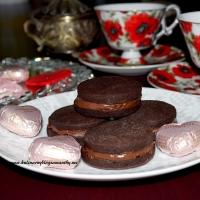 Całuski czekoladowe z nutellą